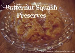 Squash Preserves
